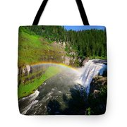 Upper Mesa Falls Tote Bag