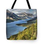 Upper Waterton Lake Valley Tote Bag