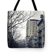 Upper West Side Winter Tote Bag