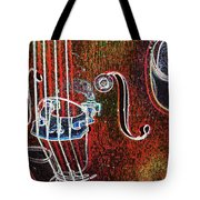 Upright Bass Close Up Tote Bag