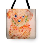 Upright Puppy Tote Bag