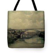 Upstream -bridge D.luis I-oporto Tote Bag