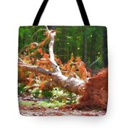 Uprooted Trees Tote Bag
