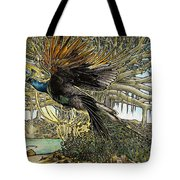Uprooting A Banyan Tree Tote Bag