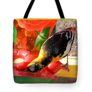 Upside Down Oriole Tote Bag