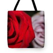 Upstaged Rose Tote Bag