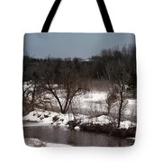 Upstream Tote Bag
