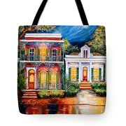 Uptown In The Moonlight Tote Bag