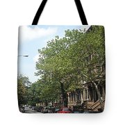 Uptown Ny Street Tote Bag