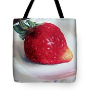 Uptown Strawberry Girl Tote Bag
