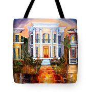 Uptown Tonight Tote Bag by Diane Millsap