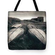 Upturned Boats Tote Bag