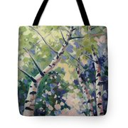 Upward Swirl Tote Bag