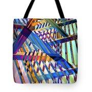 Urban Abstract 258 Tote Bag