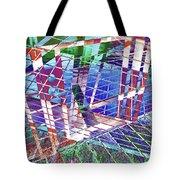 Urban Abstract 411 Tote Bag