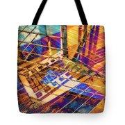 Urban Abstract 423 Tote Bag