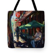 Urban Afternoon Tote Bag