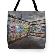 Urban Art Reflection Tote Bag