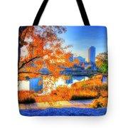Urban Autumn Paradise Tote Bag