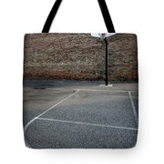 Urban Basketball Street Ball Outdoors Tote Bag