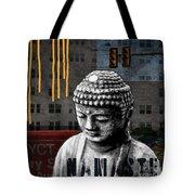 Urban Buddha  Tote Bag