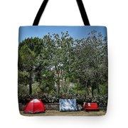 Urban Camping Tote Bag