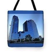 Urban Castle Tote Bag