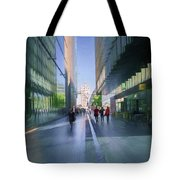 Urban Cityscape, London, Uk Tote Bag