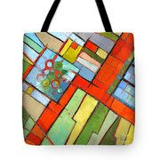 Urban Composition - Abstract Zoning Plan Tote Bag