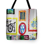 Urban Container Art V Tote Bag