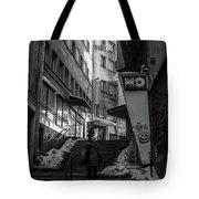 Urban Darkness Tote Bag
