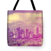 Urban Downtown Tote Bag