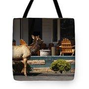 Urban Elk Tote Bag
