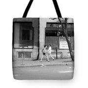 Urban Encounter Tote Bag