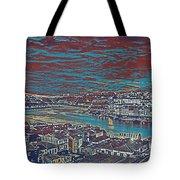 Urban Evening Tote Bag