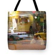 Urban Maze Tote Bag