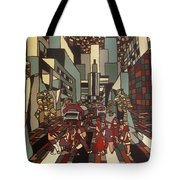 Urban Music Vl Tote Bag