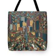 Urban Music Xll Tote Bag