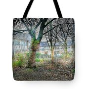Urban Mythical Nature Art Tote Bag