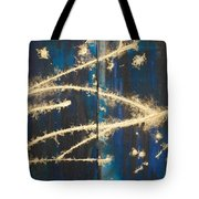 Urban Nightscape Tote Bag