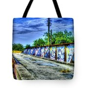 Urban Overpass Tote Bag