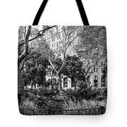 Urban Pocket Park Tote Bag