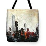Urban Poetry Tote Bag