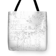 Urban River Bank Tote Bag
