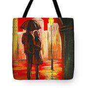 Urban Romance Tote Bag