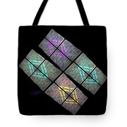 Urban Space Station Tote Bag