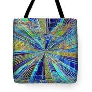 Urban Starburst Tote Bag