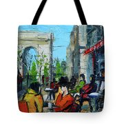 Urban Story - Champs Elysees Tote Bag