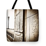 Urban Streets  Tote Bag