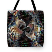 Urban Twist And Tango Tote Bag